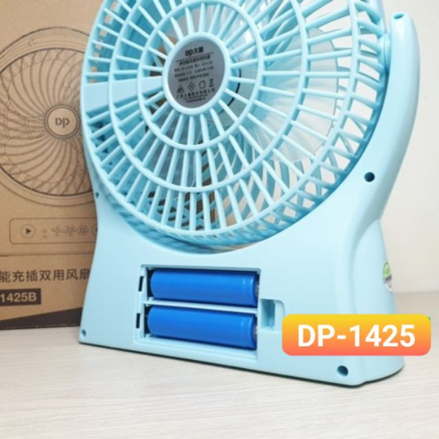 Quạt Sạc Tích Điện Để Bàn DP-1425B