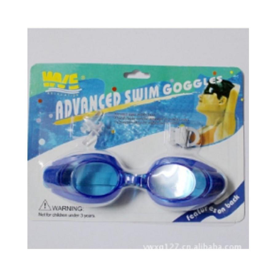 Kính bơi kèm bịt mắt bịt tai cho bé ( Màu ngẫu nhiên )