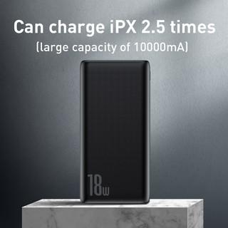 Hình ảnh Sạc dự phòng Baseus 18W 10000mAh tốc độ nhanh kết nối cổng USB3.0 cho iPhone Xiaomi-4