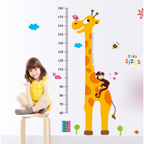 Decal Đo Chiều Cao Kid Sizes - 14640945 , 691097079 , 322_691097079 , 55000 , Decal-Do-Chieu-Cao-Kid-Sizes-322_691097079 , shopee.vn , Decal Đo Chiều Cao Kid Sizes