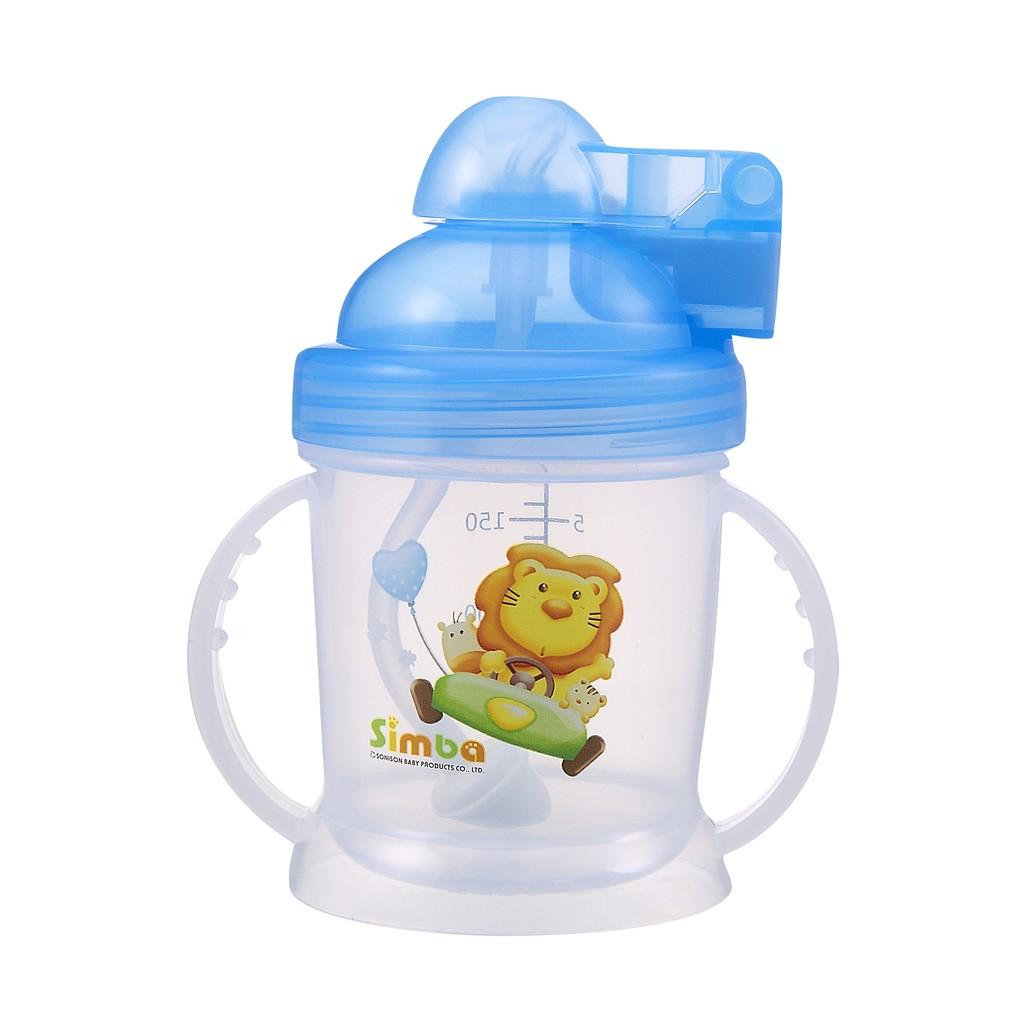 Bình tập uống hút tự động Simba S9924 - 180ml