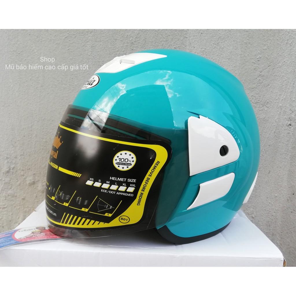 Mũ bảo hiểm ASIA MT119 (xanh ngọc)