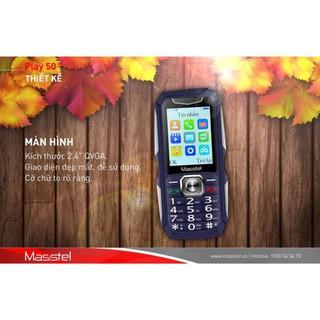 Điện Thoại Masstel Play 50 Loa khủng – Pin trâu 3000mah sản phẩm mới – bảo hành 12 thang.