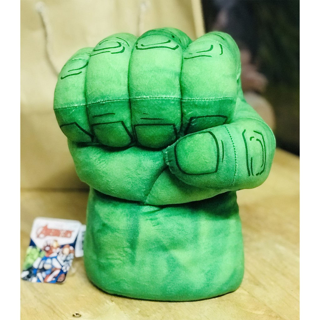 Găng Tay Nhồi Bông_Marvel_Hulk