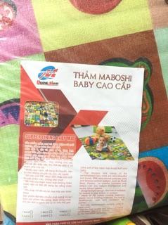 THẢM CHƠI 2 MẶT MABOSHI BABY CHO BÉ SIZE 1M8X2M
