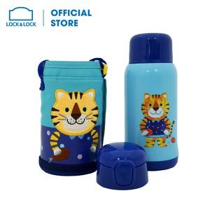 Bình nước giữ nhiệt Cartoon Kids Vacuum Bottle 550ml Lock&Lock LHC1435TGR thumbnail
