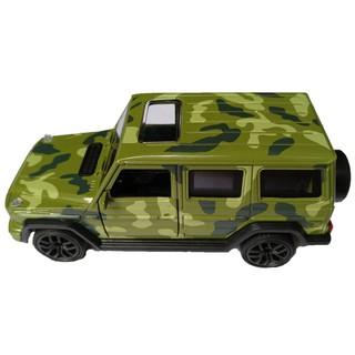 Mô hình xe Jeep bằng sắt chạy trớn có đèn nhạc KMH
