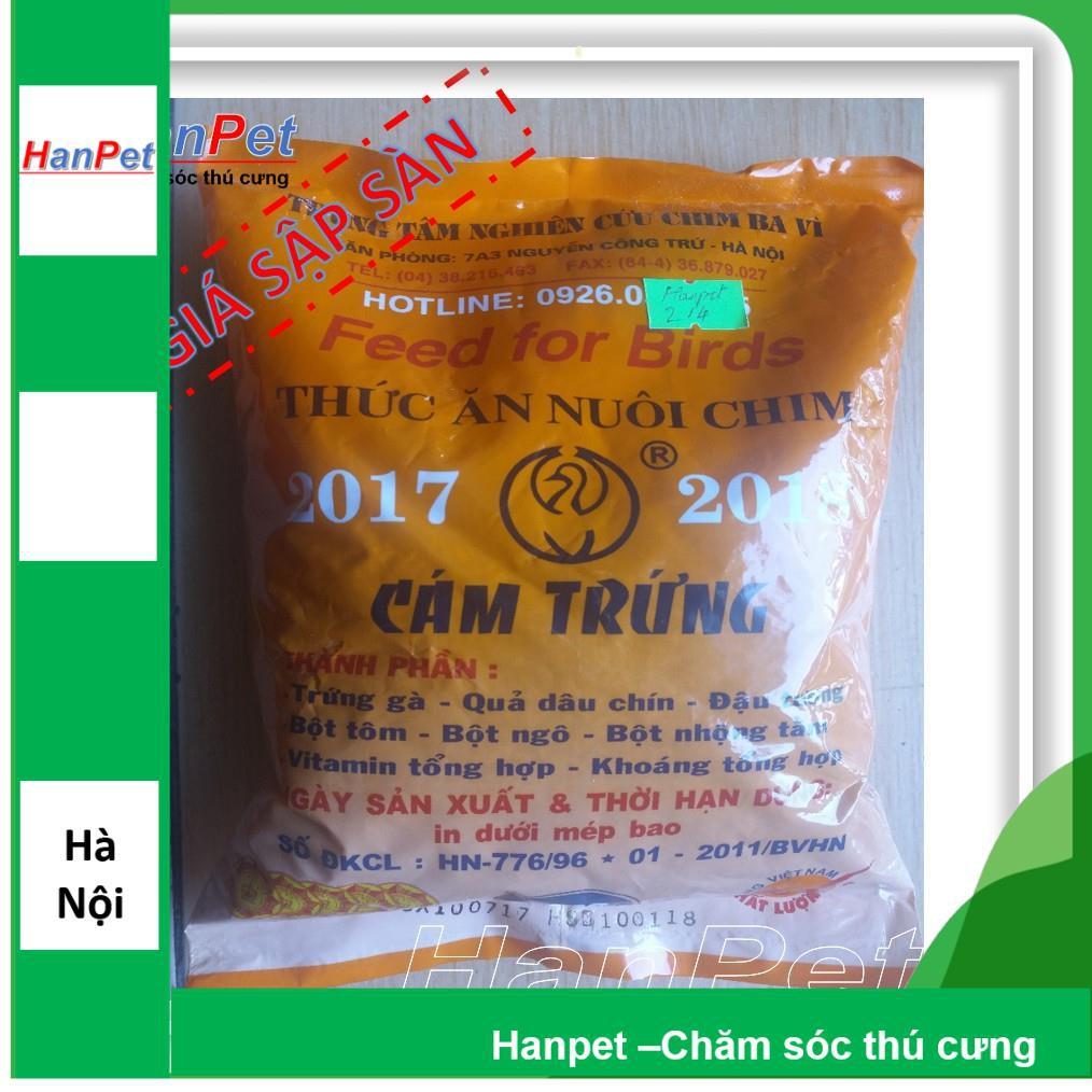 3 gói Thức ăn cho chim(Cám trứng BAVI - 500gr) (hanpet 214)