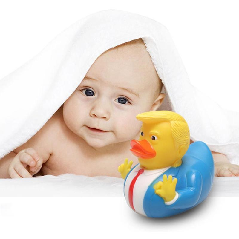 PVC Spoof Chuanpu Bathing Floating Rhubarb Duck Children's Toys