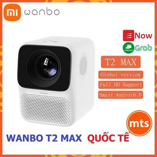 Máy chiếu thông minh Xiaomi Wanbo T2 MAX 1080P Bản quốc tế kết nối Wifi mini nhỏ gọn chính hãng - Minh Tín Shop thumbnail