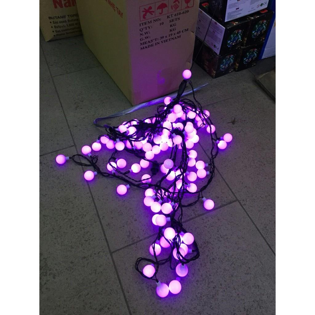 Dây đèn led trang trí 10 mét (ánh sáng tím nhạt)
