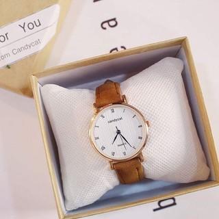 (GIá Sỉ) Đồng hồ thời trang nữ Candycat số la mã cực đẹp QUA31