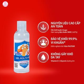 Nước rửa tay khô Avatar 75% cồn (100ml) - Diệt khuẩn tối đa - Có chứng nhận chất lượng viện PASTEUR thumbnail