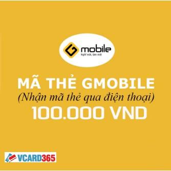 Mã Thẻ Gmobile 100.000