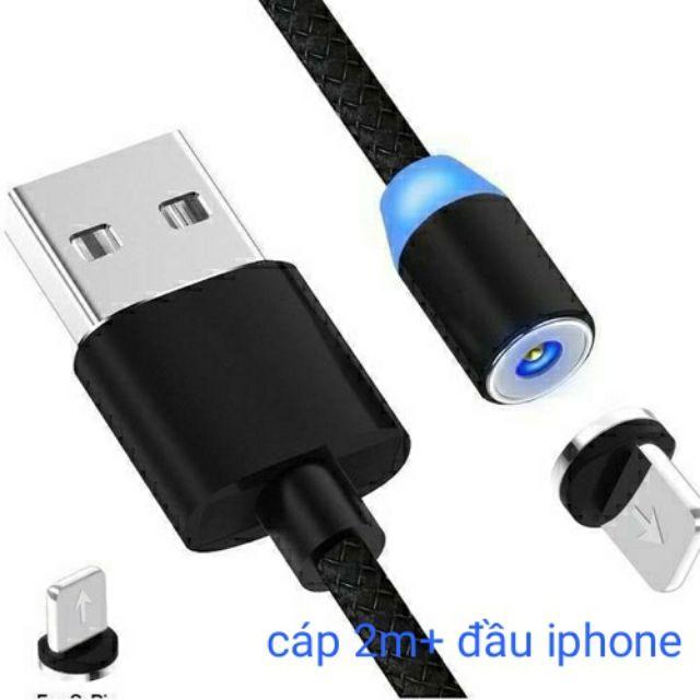 Dây Sạc Nam Châm Cho Iphone - micro Dài 2m