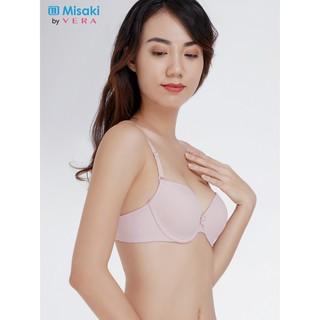 Áo ngực Misaki mút dày cúp trơn dây trơn kiểu basic - 9315 thumbnail