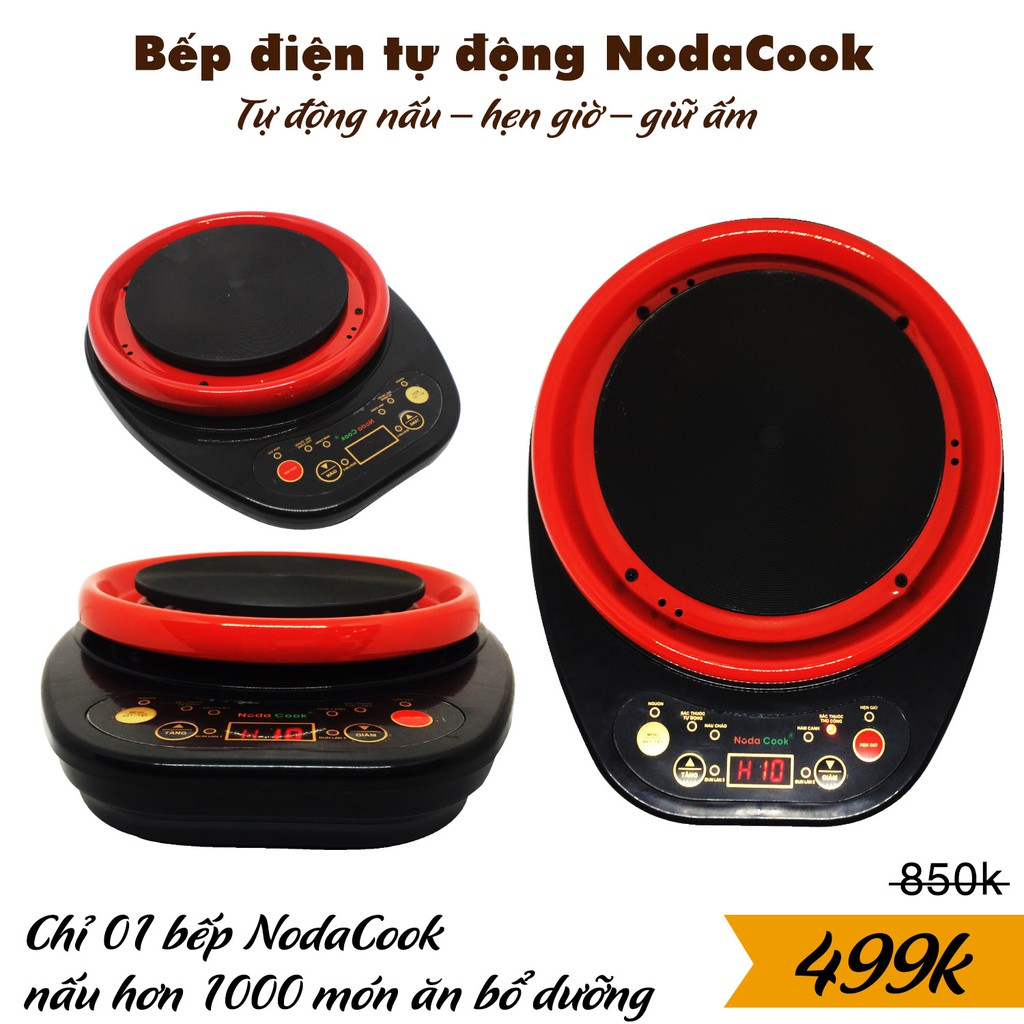 Bếp điện mini tự động Sắc thuốc - Pha trà - Nấu nướng NodaCook