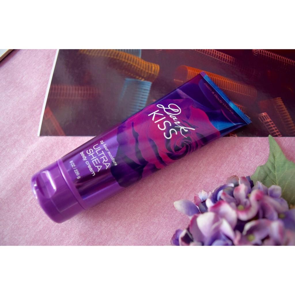 Dưỡng thể Bath & Body Works Ultra Shea Body Cream Dark Kiss 226g, Giá tháng  10/2020