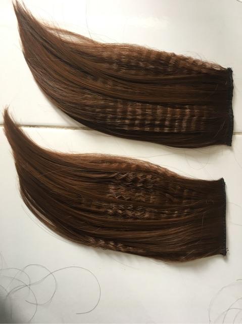 Tóc giả nữ ❤️FREESHIP❤️ kẹp phím phồng tóc 2 bên - giá 1 cặp