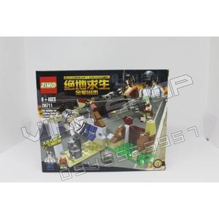 Bộ xếp hình lego quân đội QD7-1