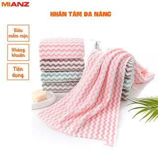 Khăn tắm, khăn mặt xuất Hàn - Mềm mịn, Siêu thấm hút 30cm x 50cm MIANZ STORE thumbnail
