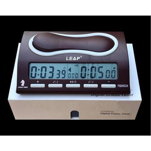 Combo 2 đồng hồ thi đấu Cờ Vua, Cờ Tướng LEAP PQ9903 – Bảo hành chính hãng