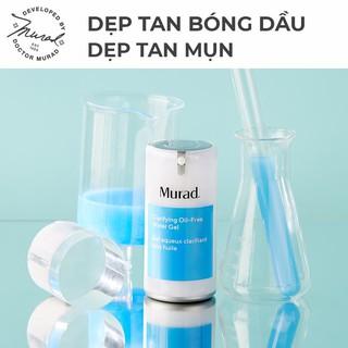 Gel dưỡng ẩm cho da dầu mụn Murad – CLARIFYING OIL-FREE WATER GEL