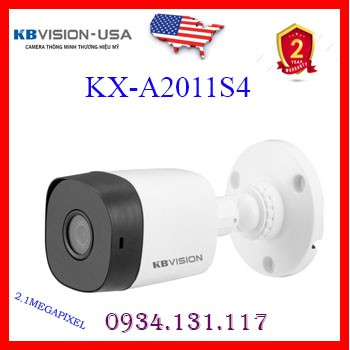 Camera 4 in 1 hồng ngoại 2.0 Megapixel KBVISION KX-A2011S4 (THẾ KX-2011S4)