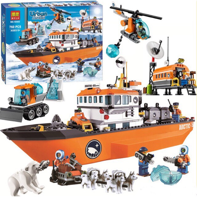 Lego urban 10443- Tàu phá băng vùng cực - 9995350 , 984602534 , 322_984602534 , 785000 , Lego-urban-10443-Tau-pha-bang-vung-cuc-322_984602534 , shopee.vn , Lego urban 10443- Tàu phá băng vùng cực