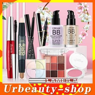 Bộ trang điểm cá nhân LAMEILA 10 món đầy đủ từ a đến z bộ makeup kết hợp Đầm nữ Giày nữ xinh set trang điể-URBLML-T10 thumbnail