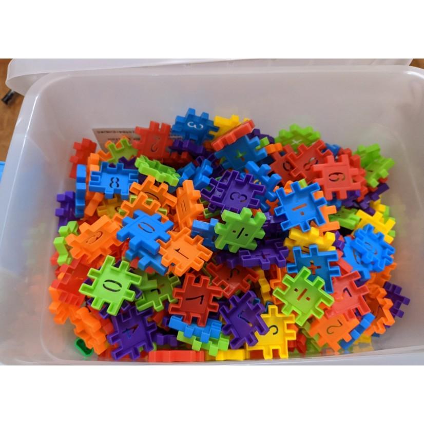 [Mã LIFE0303 giảm 15% đơn 99000] Bộ đồ chơi xếp hình số – phát triển tư duy 300+ mảnh ghép
