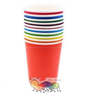 Bộ 8 ly/cốc giấy 8 màu – Dạy trẻ màu sắc