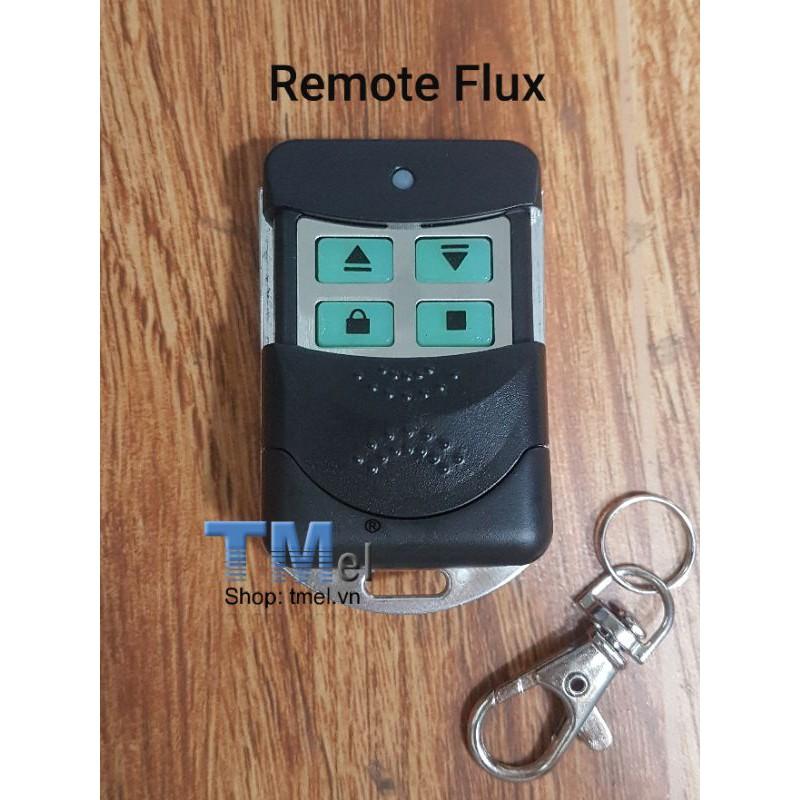 Remote cửa cuốn Flux mã nhảy