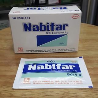 Gói muối vệ sinh Nabifar hộp 10 gói x 5g thumbnail