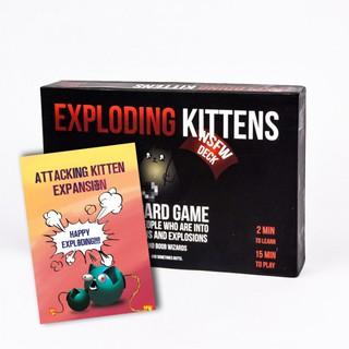 Bài Mèo Nổ Exploding Kittens – Combo Mèo Nổ Tấn Công (phiên bản 18+) Cao Cấp – EtoysVN – Đồ chơi Board Game