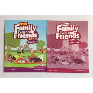 Family and Friends starter 2nd (SB+WB+CD)