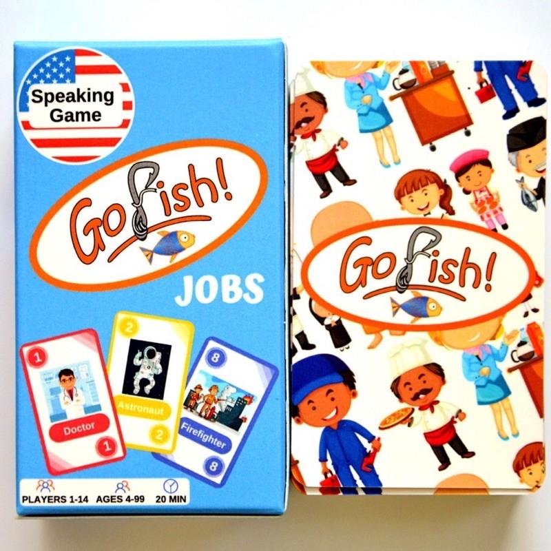 GO FISH – JOBS: FLASHCARD TIẾNG ANH / ESL GAME / HOẠT ĐỘNG NÓI TIẾNG ANH