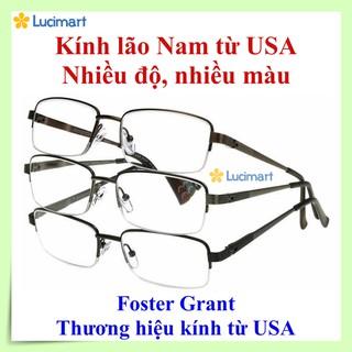 Kính lão Nam thương hiệu Foster Grant, nhiều màu sắc, nhiều độ [Hàng Mỹ]