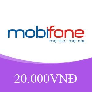 THẺ CÀO MOBIPHONE 20K - GIÁ RẺ NHẤT TOÀN QUỐC