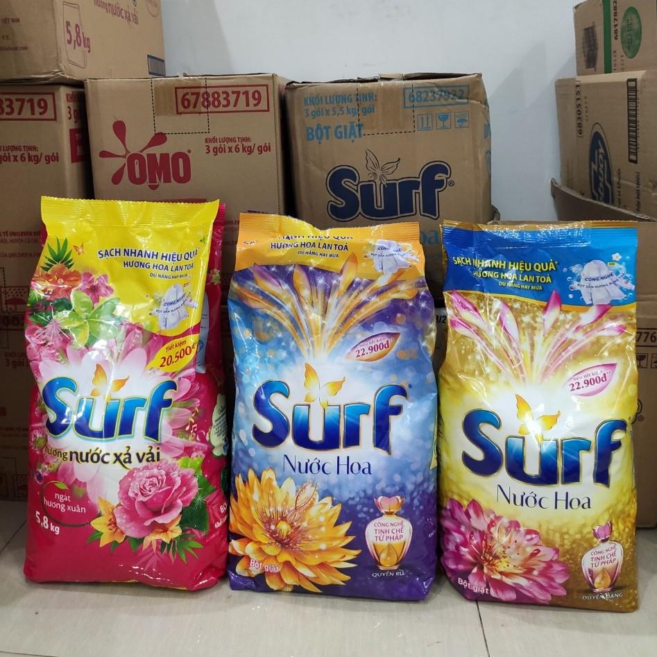 Bột giặt Surf hương Nước xả vải 5.8kg