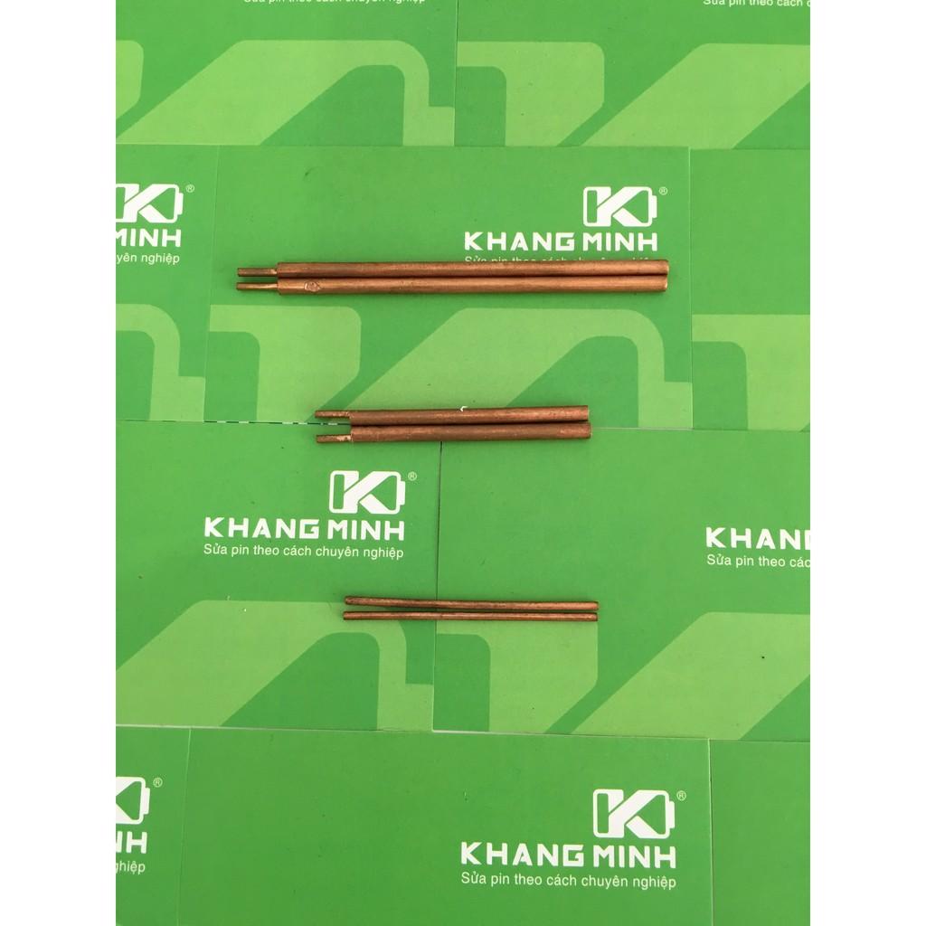 Km Cặp kim hàn cell pin chuyên dụng, dành cho máy hàn cell pin (hàn điểm, hàn bấm)