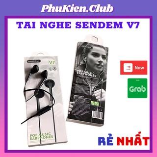 TAI NGHE SENDEM V7 CHÍNH HÃNG - BASS TỐT - BẢO HÀNH DÀI HẠN thumbnail