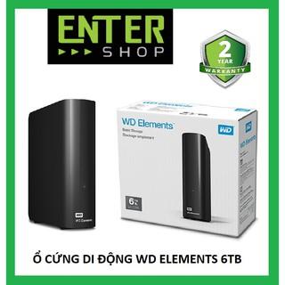 Ổ cứng di động WD Elements 6Tb 3.5inch Desktop HDD