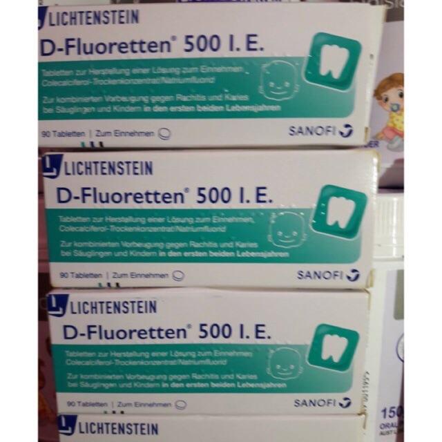 Vitamin D3 D-Fourentten 500 I.E của Đức