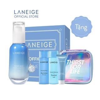 Tinh chất dưỡng ẩm chứa nước khoáng xanh LANEIGE Water Bank Hydro Essence 70ML - Thirst For Life Limited Edition