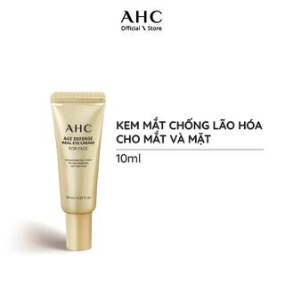 Kem Mắt Chống Lão Hóa Cho Toàn Mặt AHC Age Defense Real Eye Cream For Face 10ml thumbnail