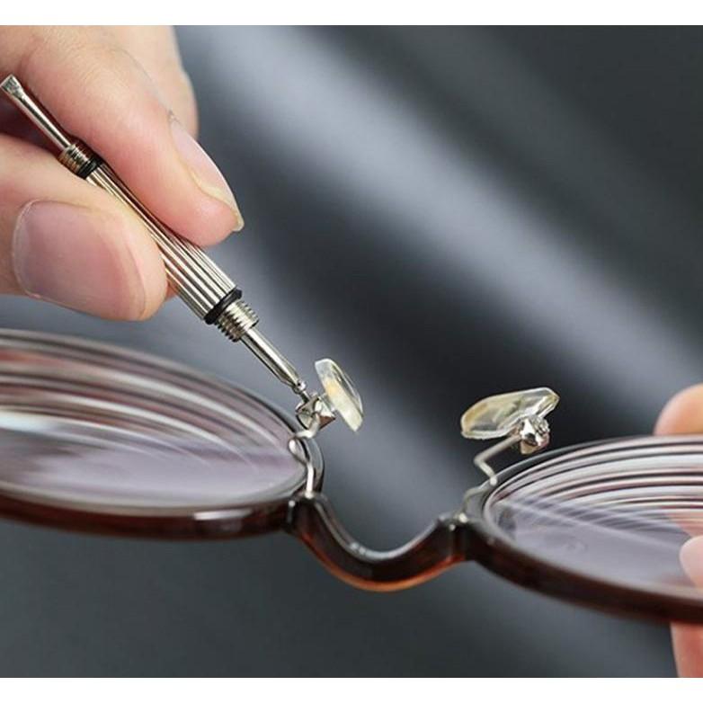 Tua vít đa năng ba đầu vặn ốc kính, phụ kiện giữ form kính chắc chắn - MẮT KÍNH NAM...