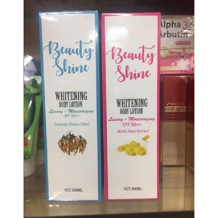 Lotion dưỡng trắng da toàn thân Beauty Shine 380ml