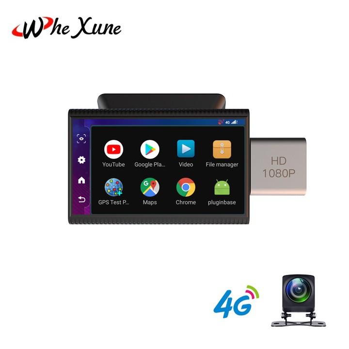 Camera hành trình ô tô, thương hiệu Whexune F8, 4G, Wifi, 3 inch - Hàng Cao Cấp