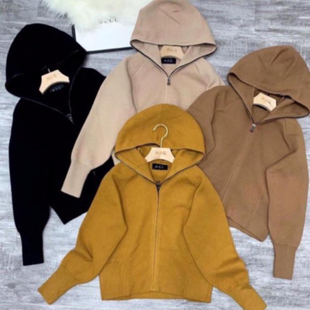 [ sẵn hàng] Áo Khoác dạ len ép Có Mũ cực xinh cực hot [ẢNH THẬT, CLIP]